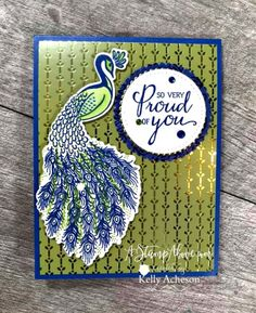 Here's the inside - just a little touch with that flourish at the bottom. Perfect Peacock, Funky Fonts, Nautical Cards, Bee Cards, New Catalogue, Stampin Up Catalog, Stamping Up Cards, Card Tags, Cool Cards