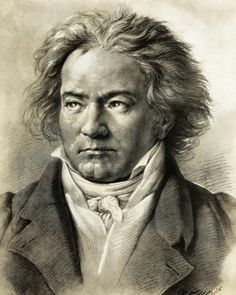 LUDWIG VAN BEETHOVEN (1770-1827) German composer and pianist. A crucial figure in the transition between the Classical and Romantic eras and one of the greatest composers of all time.