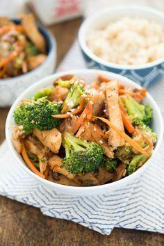 Huhn aus dem Wok | 23 einfache Abendessen, die Du nach der Arbeit kochen kannst