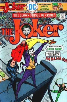 The Joker Batman Dark Knight Gotham Robin Boy Wonder DC Comics Cover Marvel Comics, Old Comics, Dc Comics Art, Vintage Comics, Marvel Dc, Comic Book Covers, Comic Books Art, Comic Art, Joker Comic