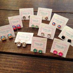 Victoria Lynn earrings at James & Leigh!