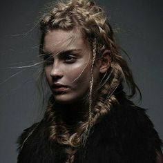 cool braided hairstyles for women vikings braids #viking #hairstyles #women #hair