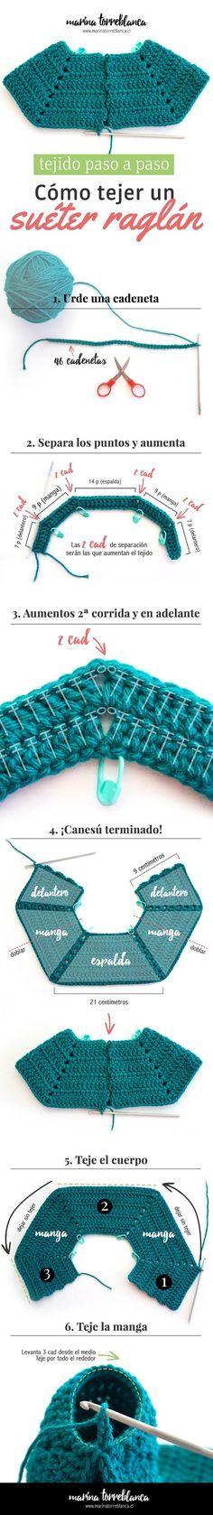 18 mejores imágenes de Patrones | Crochet patterns, Crochet clothes ...