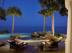 Sophisticated Key West Style - eclectic - pool - other metro - by Pinto Designs and Associates