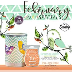 On sale February 2017! angieweber.scentsy.us