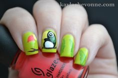 Nails by Kayla Shevonne: Tropical Toucan Nail Art