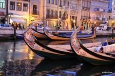 Moliceiro Boats by Andre Dias, via 500px