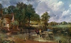 john constable the haywain | Timeless: The Hay Wain painted by John Constable and inspired by ...