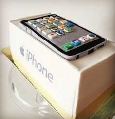 Iphone Cake by Tata Ramones • Bake & Cake