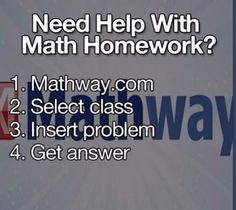 Maths problem solutions