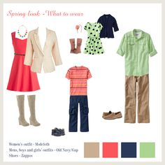 Ideas on what to wear for Spring family photos Planning a family photo session? Trying to decide on outfits can be quite a challenge especially with a large family. Here are a few family photos clothing ideas for your family photography session. Family Portrait Outfits, Family Picture Outfits, Family Portraits, Clothing Photography, Family Photography, Photography Outfits, Photography Guide, Children Photography, Family Photo Colors