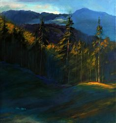 """Saatchi Art Artist Nickolas Kocherzhuk; Painting, """"after the Rain"""" #art"""
