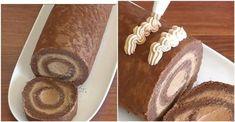 Báječná čokoládová roláda od tety zo Švédska: Celá rodina si pýtala recept! - Recepty od babky Napkins, Bread, Food, Towels, Dinner Napkins, Brot, Essen, Baking, Meals