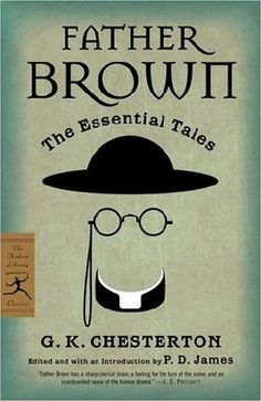 "G.K. Chesteron's ""Father Brown: The Essential Tales"". I love this cover art."