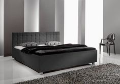 Łóżko MONA Mattress, Modern, Loft, Bed, Furniture, Home Decor, Html, Bedroom Bed, Twin Size Beds