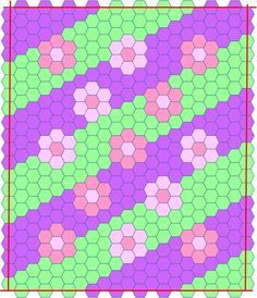 hexagon quilts | Made with Love and Ladybug Hugs: Crazy!! Hexagon Baby Quilt - Part 2