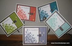 Stamp & Scrap with Frenchie: Stampin'Up! In-Color Shadow and Bleach