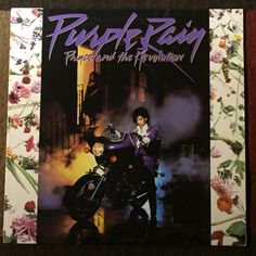 Purple Rain Music Soundtrack Album - 1984 - Prince and the Revolution by HECTORSVINTAGEVAULT on Etsy