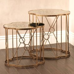 Celine Curved Octagonal Nesting Tables