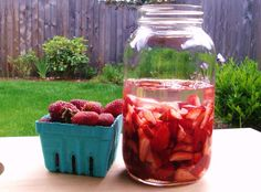 Homemade strawberry infused rum recipe from the masters of Boozed and Infused