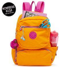 Dawson Laptop Backpack - Popsicle Orange Combo   Kipling