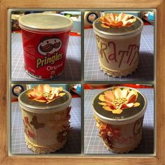 I love to give Pringles cans a makeover :)
