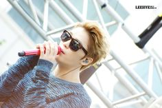 Kim Jaejoong -  rehearsal for Gangnam Festival (141005)