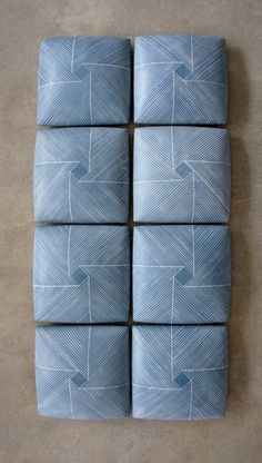 Giselle Hicks - Wall Tiles with Spiral