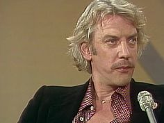The star of the CBC drama Bethune talks to the Front Page Challenge panel about portraying the renowned doctor and about the entertainment industry in Canada. Donald Sutherland, Drama, Challenges, Entertainment, Canada, Star, Dramas, Drama Theater, Stars
