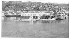trieste porto vecchio   Trieste - porto vecchio anni '50