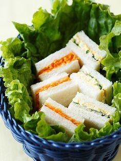 【ELLE a table】たけのことクレソンの卵サンド&キャロット・ラペのミニミニサンドレシピ|エル・オンライン