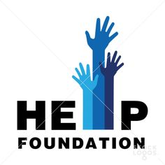 "Help Foundation logo. The ""village"" in my company name represents the people and animals helped in our community, not the physical buildings in a village."