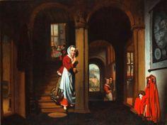 Nicolaes Maes - De luistervink
