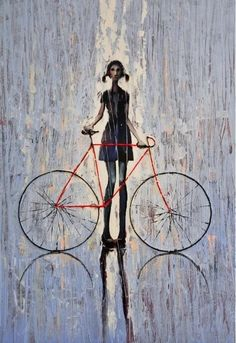 Bicycle Fashion in the Rain