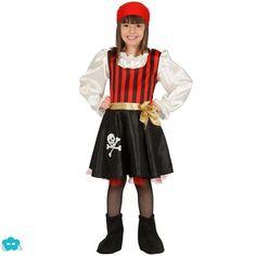 adb5ea15230 21 imágenes estupendas de Disfraces de pirata para niña