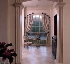 Image result for window treatment for palladian window