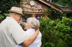 Senior Couple in a Garden