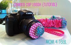 Camera Cap Leash - Mom 4 Real