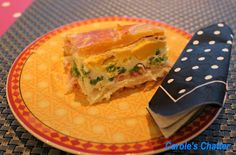 Carole's Chatter: Bacon & Egg Pie – a Kiwi Classic World Recipes, Pie Recipes, Kiwi, Egg Pie, Picnic Foods, Bacon Egg, Spanakopita, Tasty Dishes, Ham