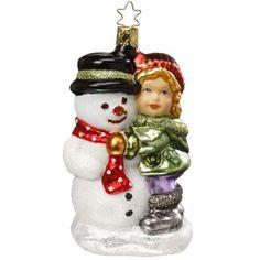 Winter Memories Ornament by Inge-Glas of Germany
