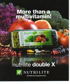 nutrilite - DoubleX wanneer je een extra verzekering nodig hebt in je drukke bestaan!