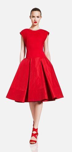 Little red dress - Donna Karan Resort 2012