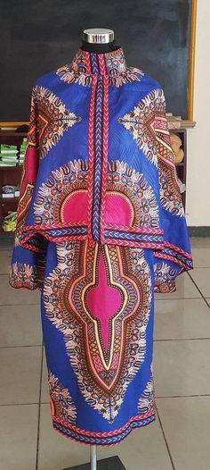 d60bebdbd973 Ähnliche Artikel wie Afrikanische Dashiki, afrikanischen Druck, Kleid, Kleid,  Frauen tragen, afrikanische Frauen Kleid, oben und unten auf Etsy