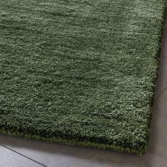 Baxter Bronze Green Wool Rug Swatch