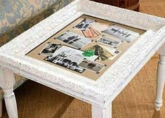 Picture frame crafts ideas using old picture frames in new ways. Ideas for recycling picture frames include making a table, loom, tray, earring or bow holder. Picture Frame Tray, Picture Frame Projects, Unique Picture Frames, Picture Frame Crafts, Crafts With Pictures, Decorating With Pictures, Old Pictures, Picture Frame Inspiration, Diy Framed Art