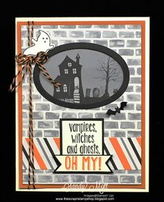 The Scrap n' Stamp Shop: HALLOWEEN NIGHT - Holiday Catalog Sneak Peek