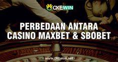Apakah Anda orang yang mencari perbedaan antara Kasino Maxbet & Sbobet? Jika ya, di sini Anda berada di tempat yang tepat. Di sini kami memiliki semua yang perlu Anda ketahui. Klik di bawah ini untuk mengetahui perbedaannya  #Difference #Maxbet #Sbobet #Casino