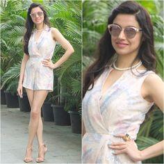 Gorgeous Divya Khosla Kumar . Outfit - @shehlaakhan Sandals -...