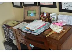 Organized and Simplified!: Organizing: My home office