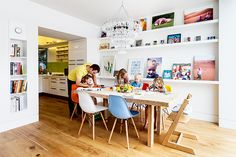 the perfect family home with open plan kitchen diner and living